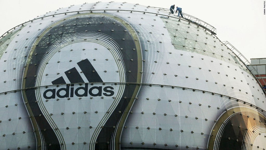 Adidas promises to use only recycled plastics by 2024