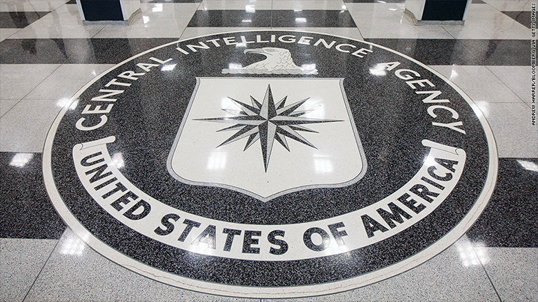 central intelligence agency seal floor