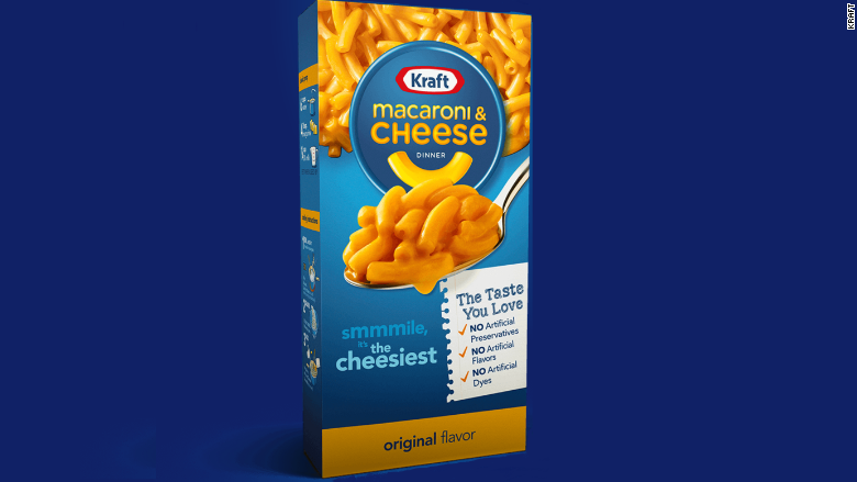 kraft mac and chance