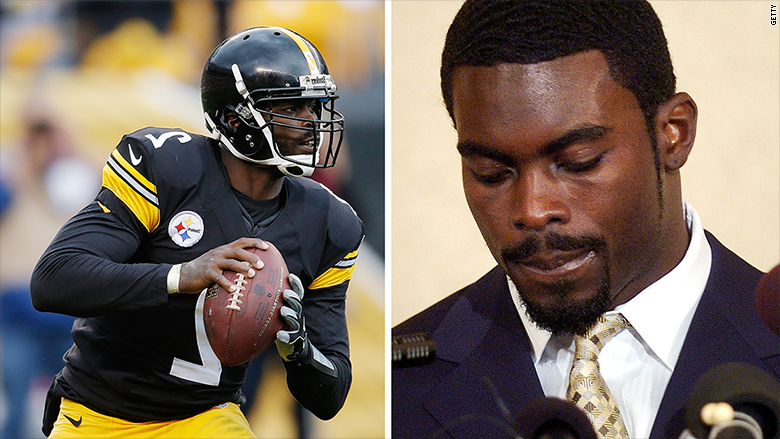 nike disgraced athletes mike vick