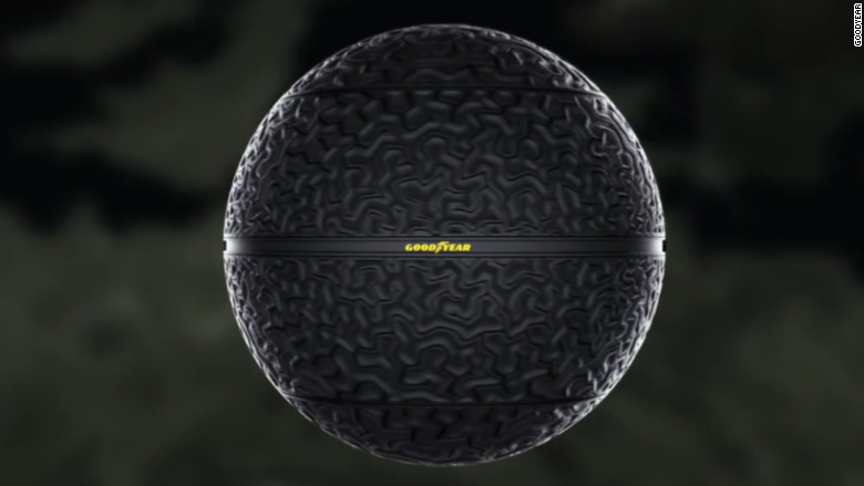 How To Rotate Tires >> Goodyear is working on spherical tires