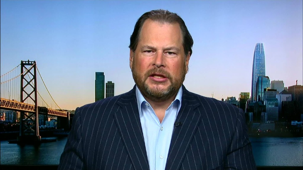 Salesforce CEO: Georgia bill is discriminatory and 'unacceptable'
