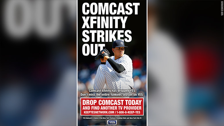 comcast xfinity strikes out