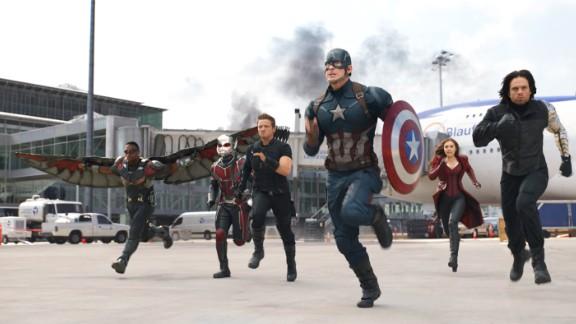 'Captain America: Civil War' nabs $200 million at overseas box office in days