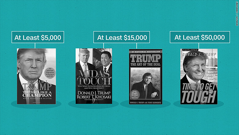 trumps money books