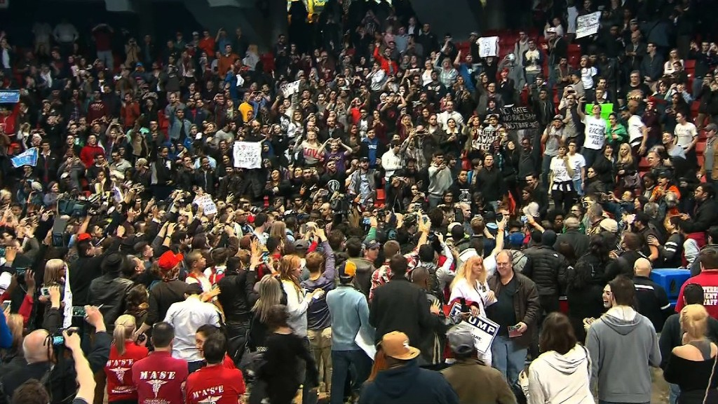 Violence continues at Donald Trump rallies