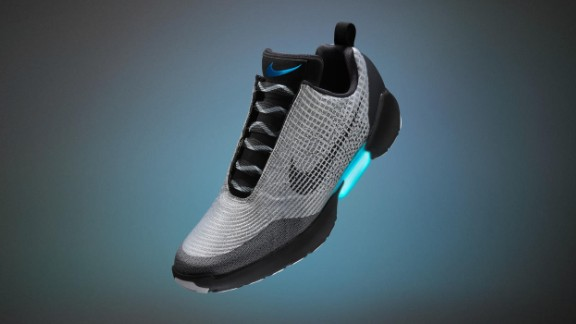 Nike reveals new details about its self-lacing 'Back to the Future' sneakers