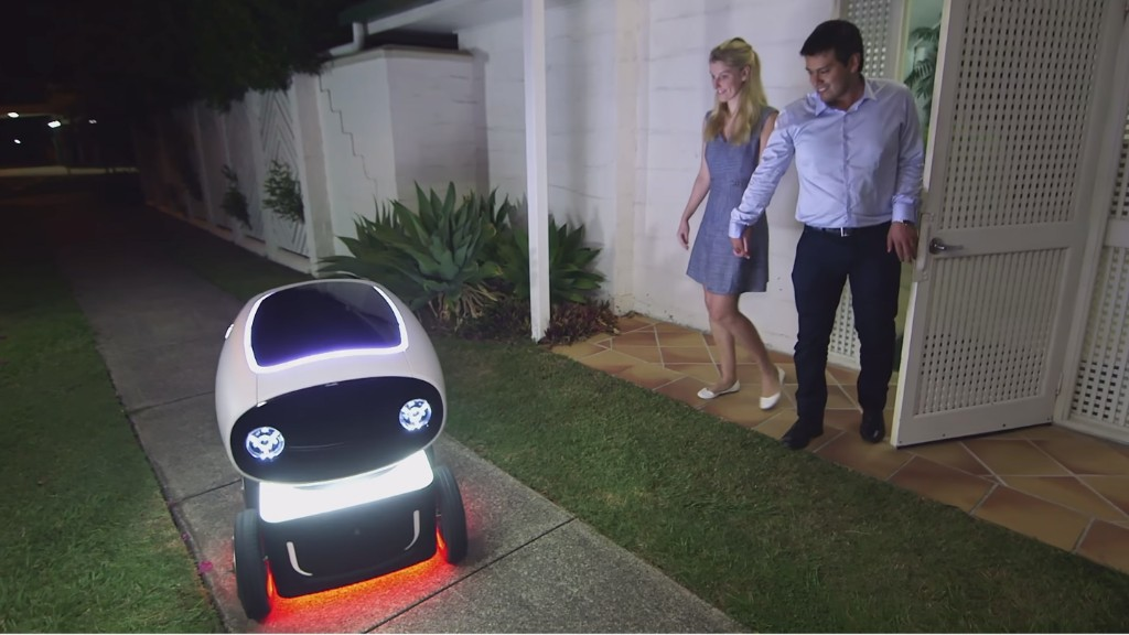 Meet the robot that delivers pizza