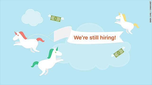 Tech unicorns have hundreds of job openings