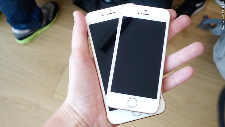 Iphone 6 Size Compared To Iphone 5