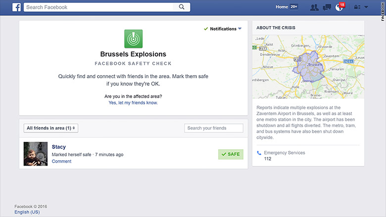 bussels facebook safety check