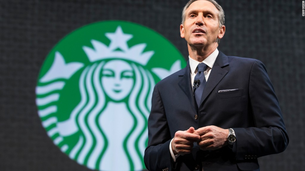 Starbucks CEO: Minimum wage headed in the right direction
