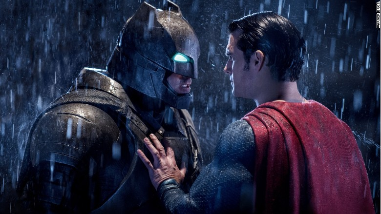 batman v superman faceoff