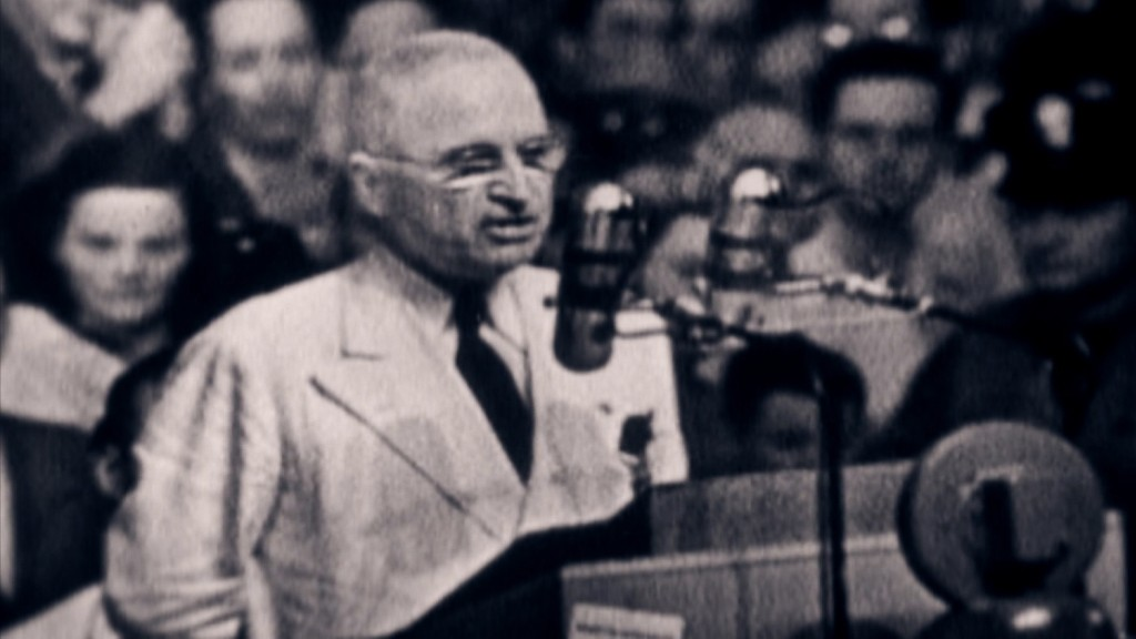 President Harry Truman's game-changing speech