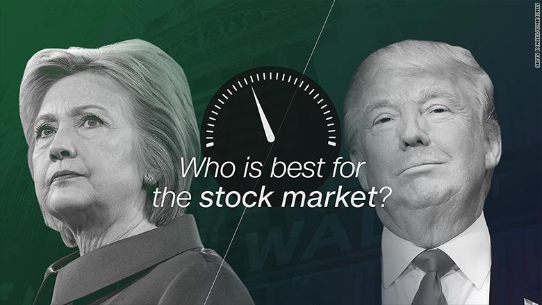 hillary clinton donald trump investors