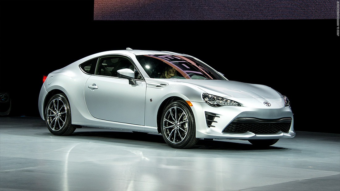 Toyota 86 Cool Cars From The New York Auto Show Cnnmoney