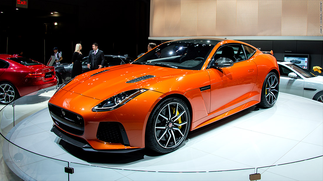 Jaguar Svr >> Jaguar F-Type SVR - Cool cars from the New York Auto Show - CNNMoney