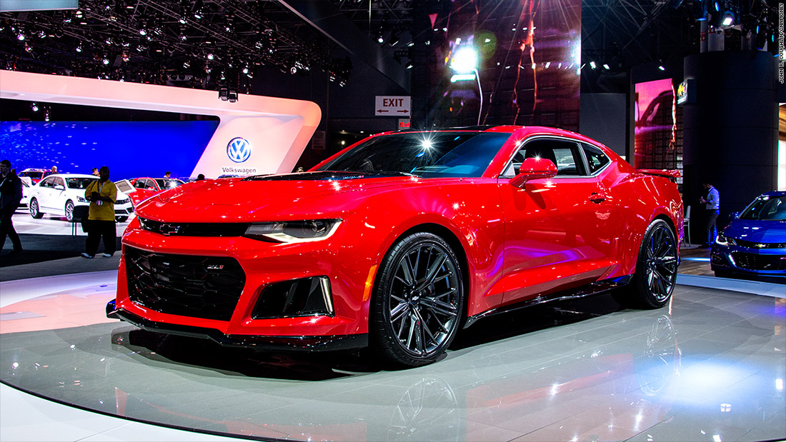 Chevrolet Camaro ZL Cool Cars From The New York Auto Show CNNMoney - New york auto show