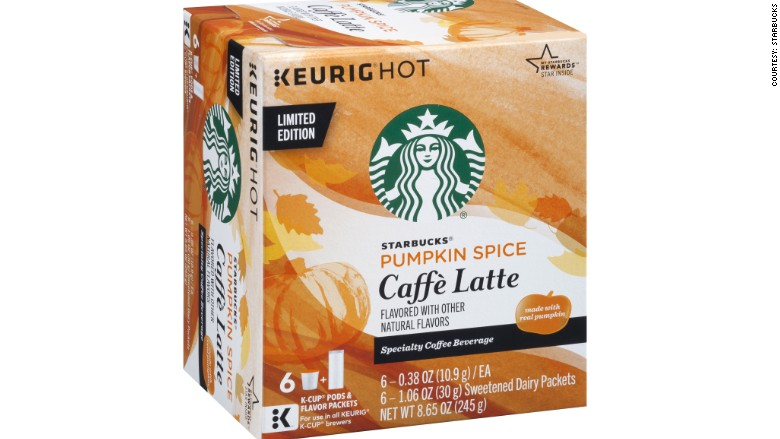 Starbucks pumpkin K cup
