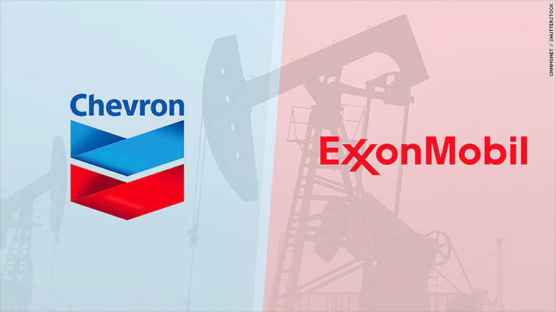 chevron exxon mobile split