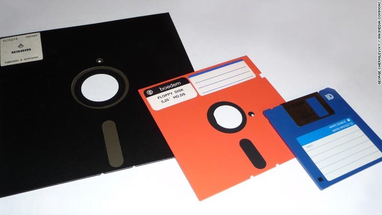 80s floppy disk