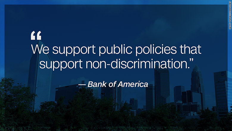 charlotte bank of america LGBT