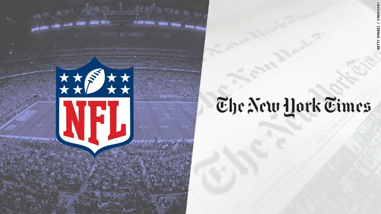 nfl vs nytimes