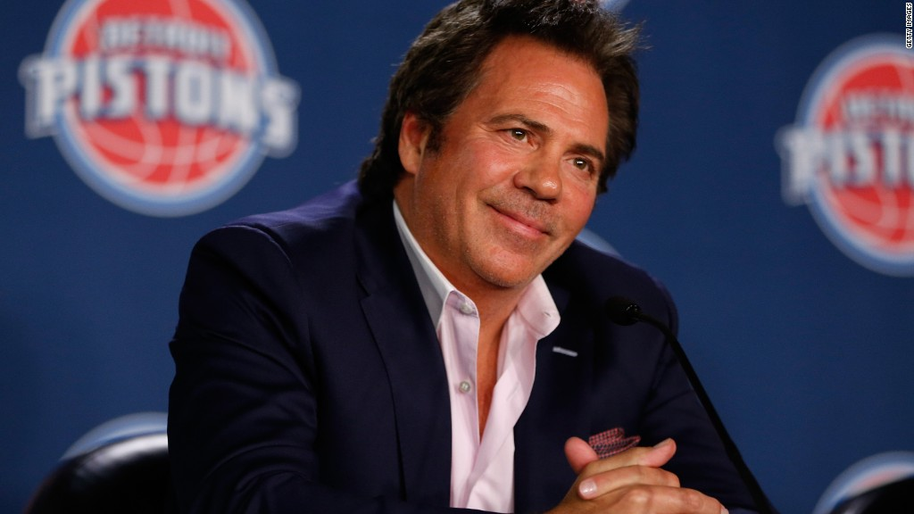Detroit Pistons' owner pledges to revitalize Flint