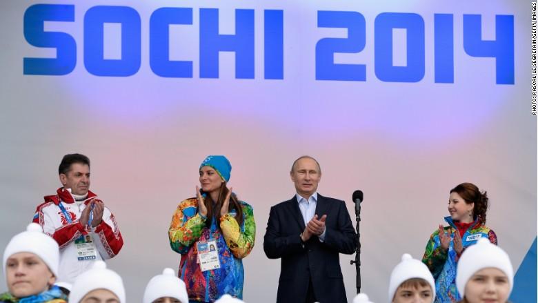 Russia Putin Sochi
