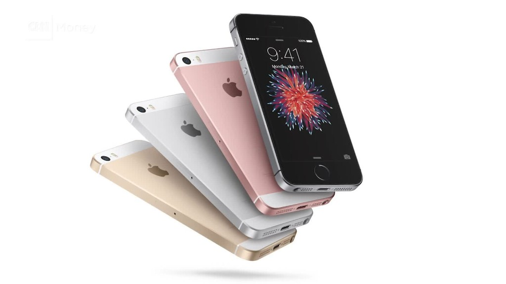 It costs Apple $220 to build the iPhone SE