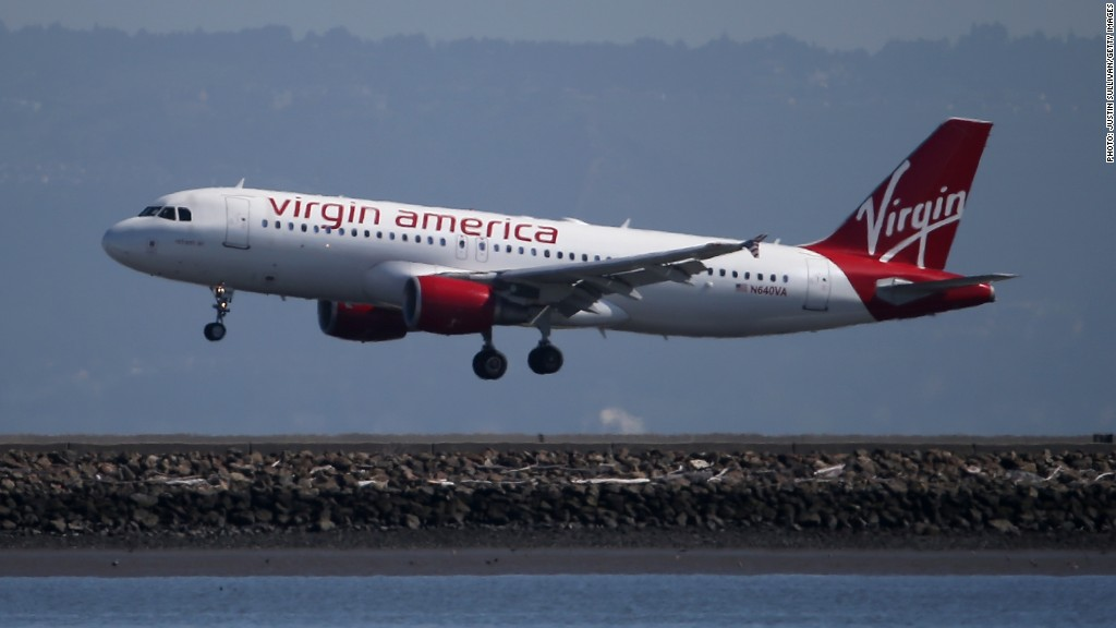 Virgin America shares soar on Alaska Air deal