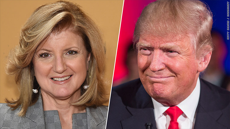 Trump Huffington split