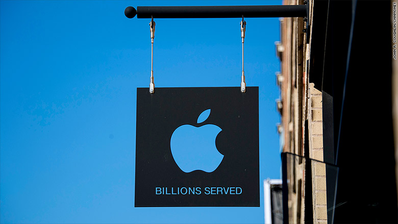 apple billions served