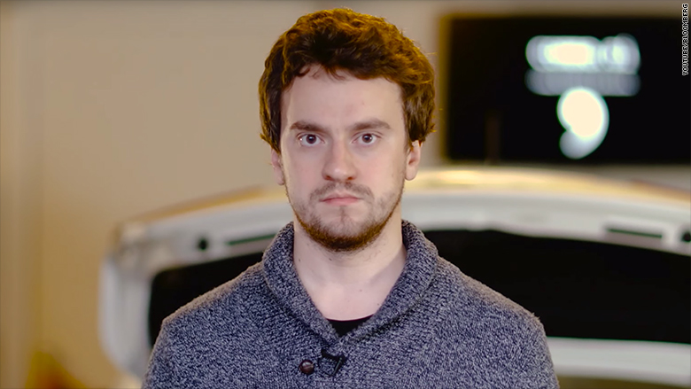 George Hotz self driving car