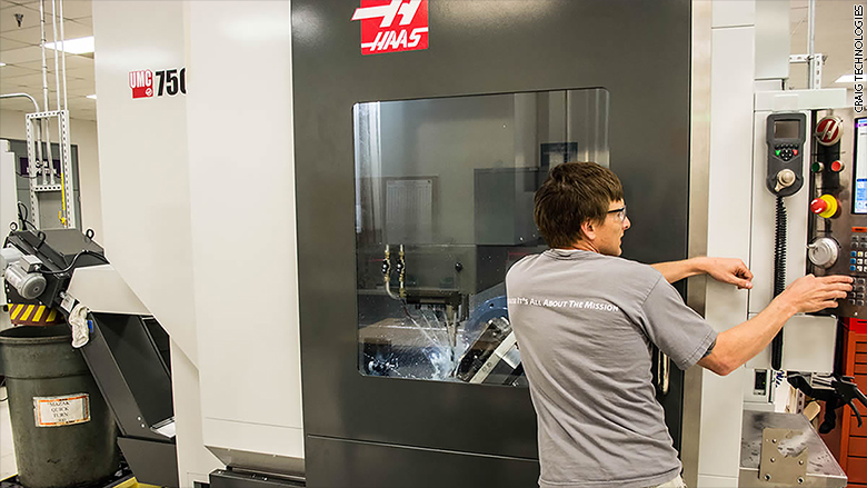 manufacturing haas machine