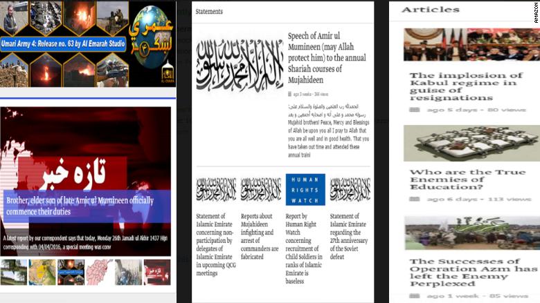 amazon taliban app