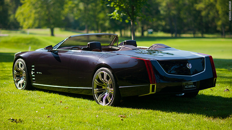 Cadillac Ciel concept - Greatest hits from GM's top designer - CNNMoney