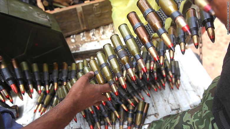libya arms trade