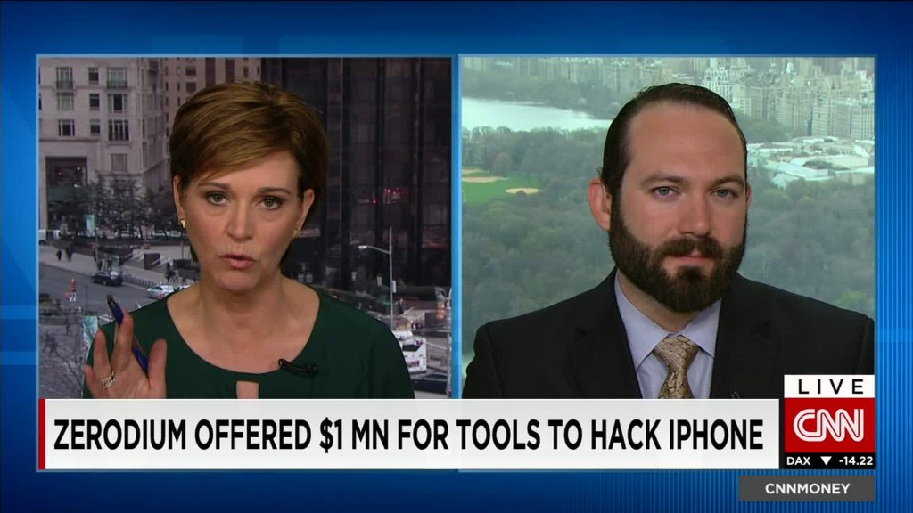 Firm buys and sells hacking tools