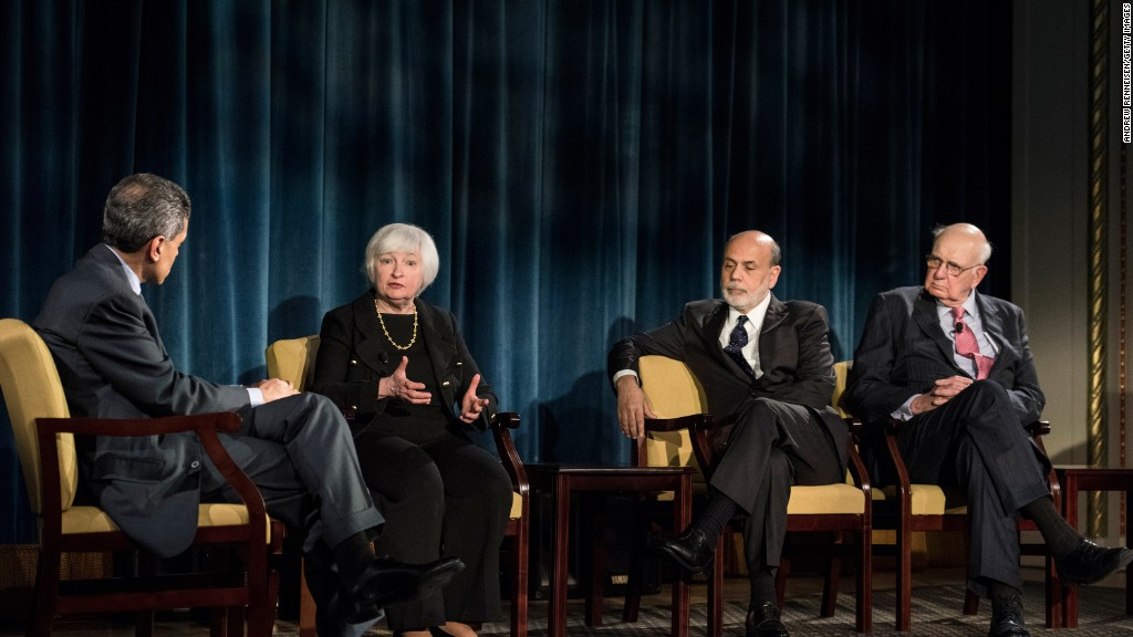 Is the power of running the Federal Reserve an ego boost?