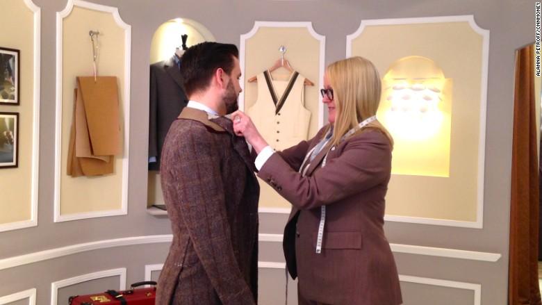 kathryn sargent tailor savile row