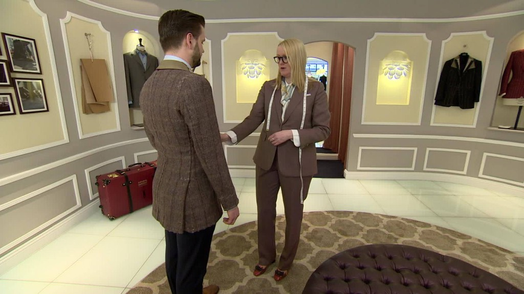 Kathryn Sargent: The new top tailor on Savile Row