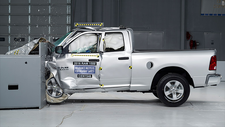 iihs truck crash