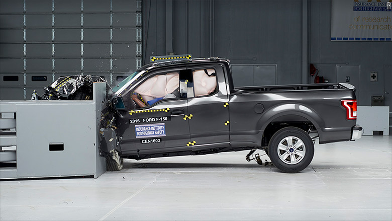 Ford F-150 comes top in key crash test; Ram trucks score ...