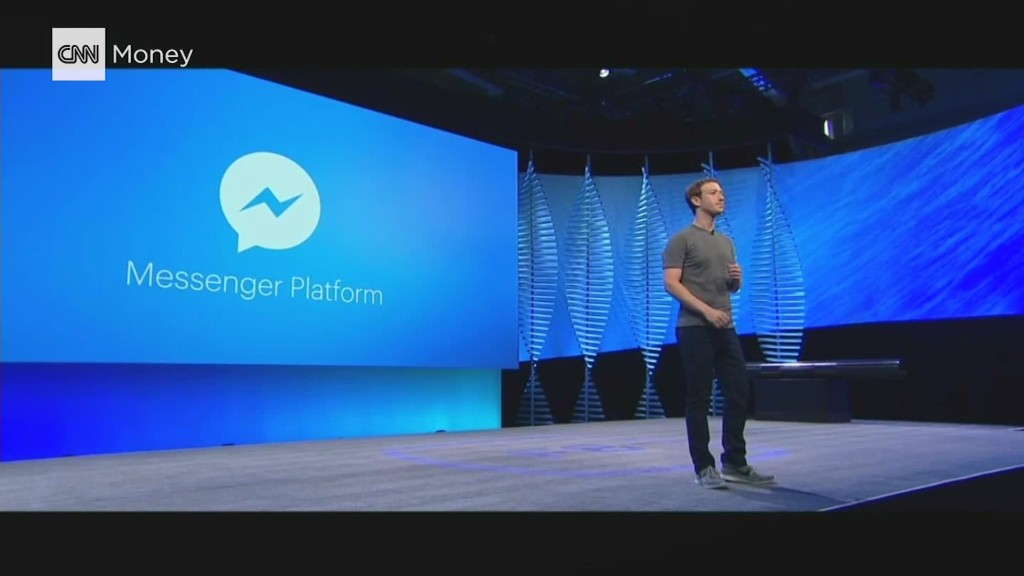 Zuckerberg announces Facebook Bots for Messenger