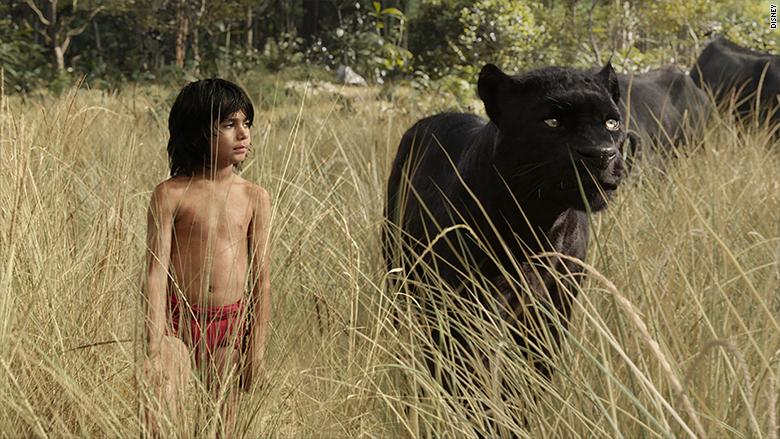 mowgli bagheera