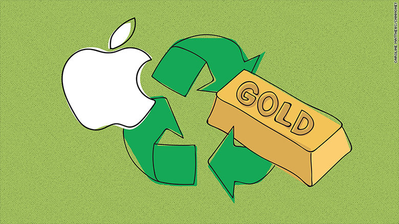 how to get photos off iphone apple recovered 2 204 pounds of gold from broken iphones 2204