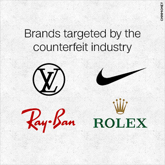 The 'fakes' industry is worth $461 billion
