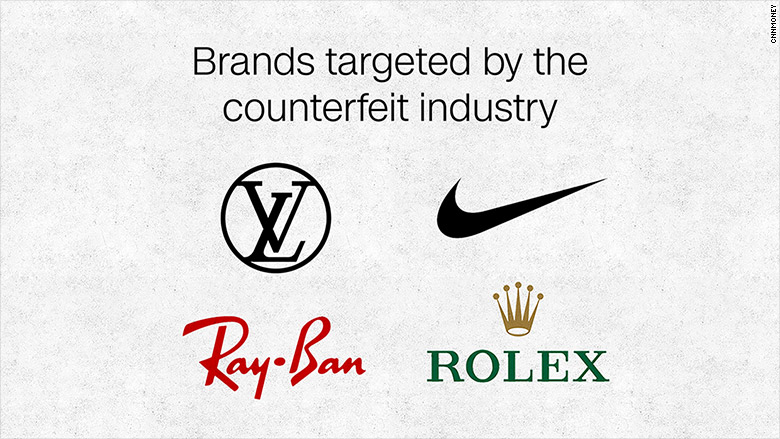 fake industry brands