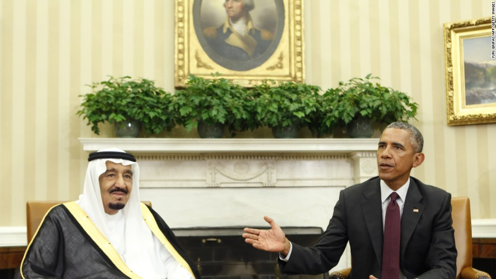 Saudi Arabia's tensions with U.S. magnified by cheap oil